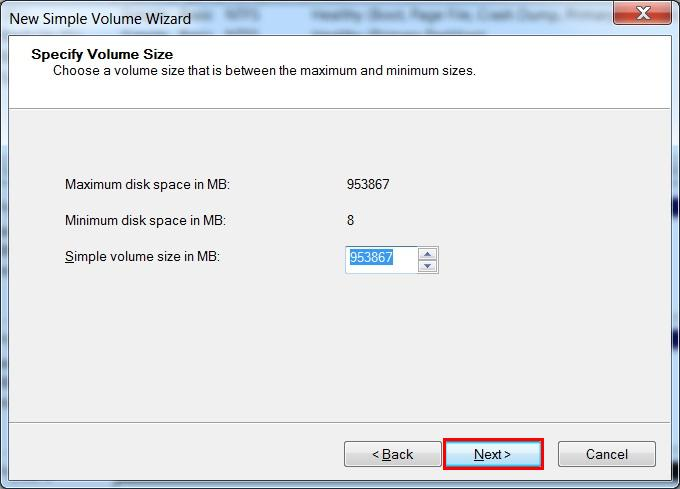 how to format a new internal hard drive