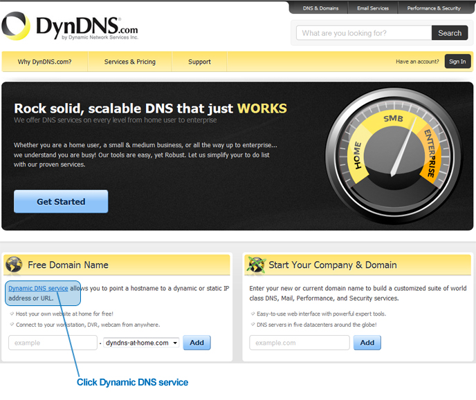 Testing DynDNS DDNS | Worldeyecam Support for Security