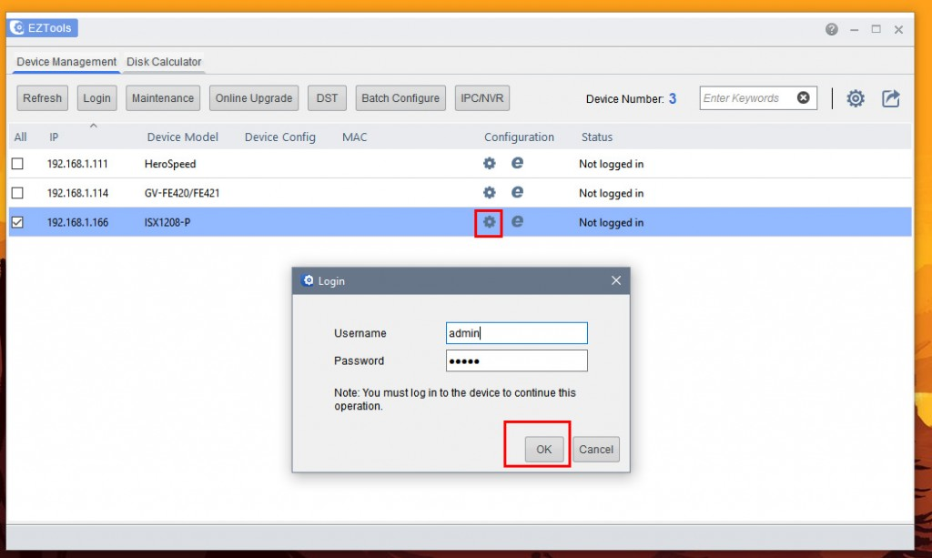 UniView - Configure NVR for network using EZTools (Windows