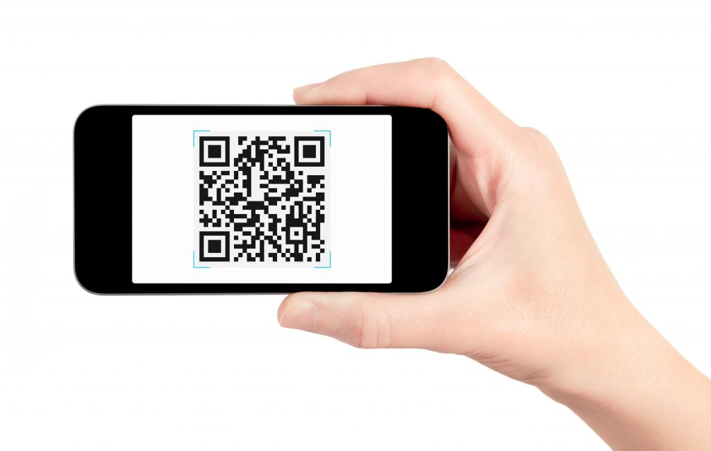 QR Code Scan P2P iPhone Android iOS instructions