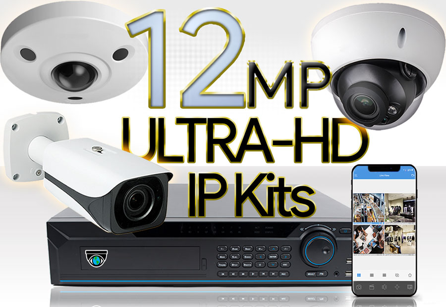 12MP PoE IP Kits