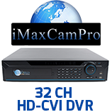 32 Channel HD-CVI DVR's