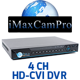 4 Channel HD-CVI DVR's