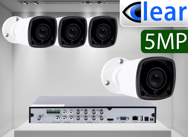 CLEAR 4 Camera HD Analog Kits