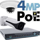 4MP PoE IP Kits