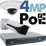 4MP PoE IP Kits