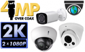 4MP HD over Coax BNC Systems