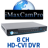 8 Channel HD-CVI DVR's