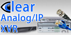 CLEAR XVR - Coax BNC and IP Recorders
