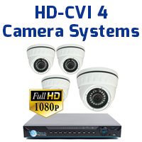 4ch HD Camera Systems