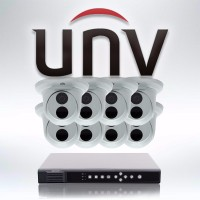 IP Camera Systems - 8ch Uniview