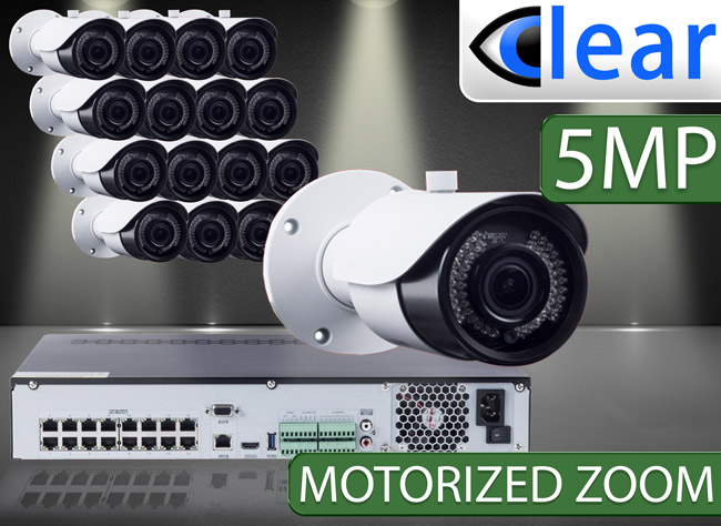 CLEAR 16 Camera IP Kits