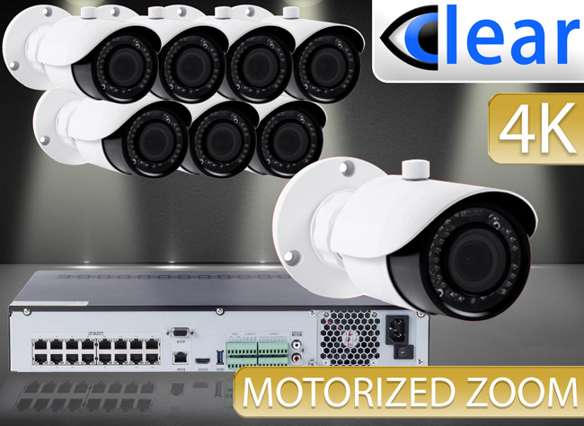 CLEAR 8 Camera IP Kits