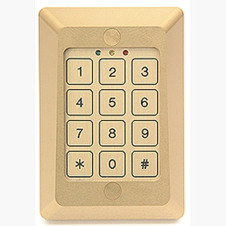 634W Camden 3X4 Keypad/Reader - Single Gang, 26 bit