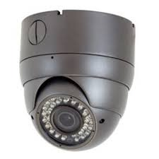 Dome camera with base