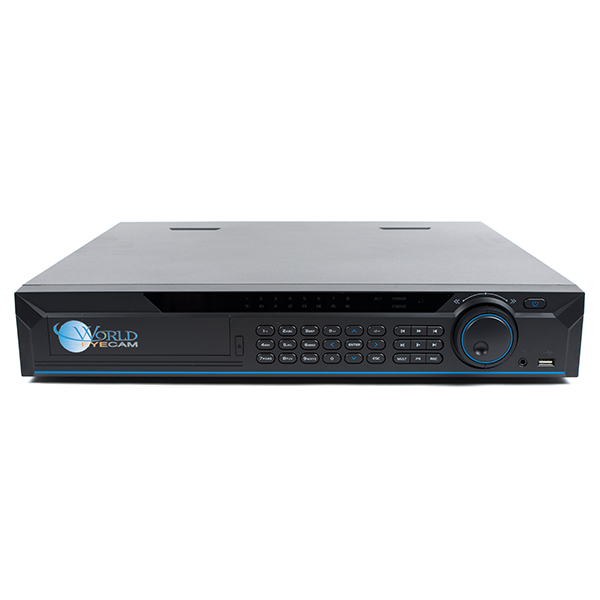 8Ch 1.5U 1080p All IN One HD-CVI, IP NVR, Analog DVR System - 4 HDD