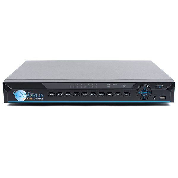 16Ch 1U All IN One HD-CVI, IP NVR, Analog DVR System Full 720p@ 30FPS & 1080P @ 15FPS (no alarm inputs)