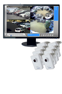 Eight Camera Wireless 1.3 Megapixel IP Camera Bundle - GV-CBW-8CH-BUNDLE