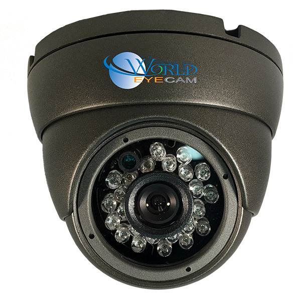 Vandal Proof Dome 960H 800TVL High Resolution IR Night Vision Color Camera 3.6mm fixed lens
