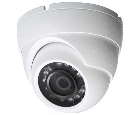HD-CVI Fixed Dome Camera - 3.6mm Lens, IP66, Smart IR, Weatherproof
