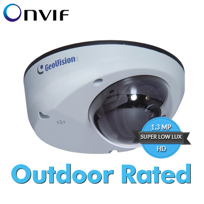 GV-MDR1500-1F 1.3MP 2.8mm H.264 Super Low Lux WDR Mini Fixed Rugged Dome IP Camera