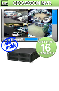 Entry Level HD GeoVision NVR: Supports 16 to 32 IP Megapixel Cameras NVR Network Video Recorder - Intel i7 Processor