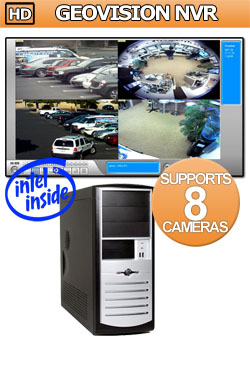 Entry Level HD GeoVision NVR: Supports 8 to 16 IP Megapixel Cameras NVR Network Video Recorder - Intel i5 Processor