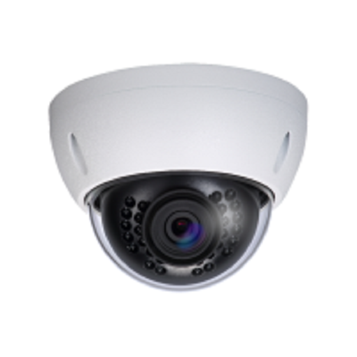 4MP 4CH Security Camera System, 4CH POE NVR w/1TB HDD and 2 4MP White Dome, 2 4MP White Bullet