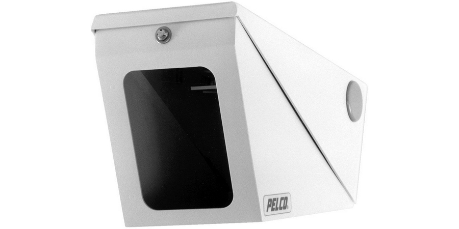 Enc High-Security Indoor/Moderate Outdoor Ceiling Mount. Aluminum Vandal-Resistant with Hinged Lower Cover and Special Tool to Secure. Lexan Window with Conduit Knockouts On Backbox and Sides
