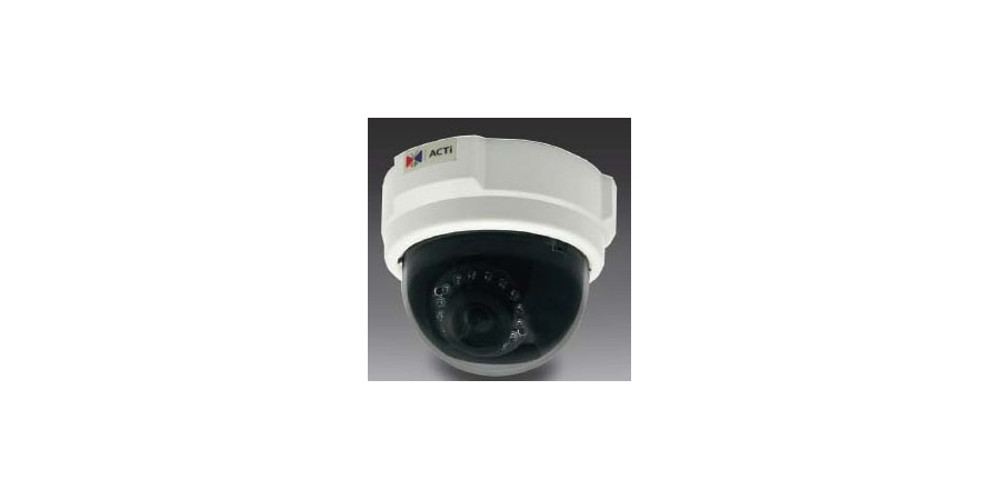 Dome Camera, WDR, Day/Night, Indoor, H.264/MJPEG, 2592 x 1944 Resolution, F1.8 Fixed Focus/Iris 3.6 MM Lens, 6.49 Watt, PoE, With IR LED