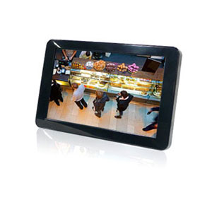 "SQP-110P Signage Display 11"" Monitor V:1.1A (NON-Touchscreen Panel, Networkable, Black/US)"