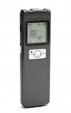 VRSLT: Long Duration Voice Recorder with 8GB Memory