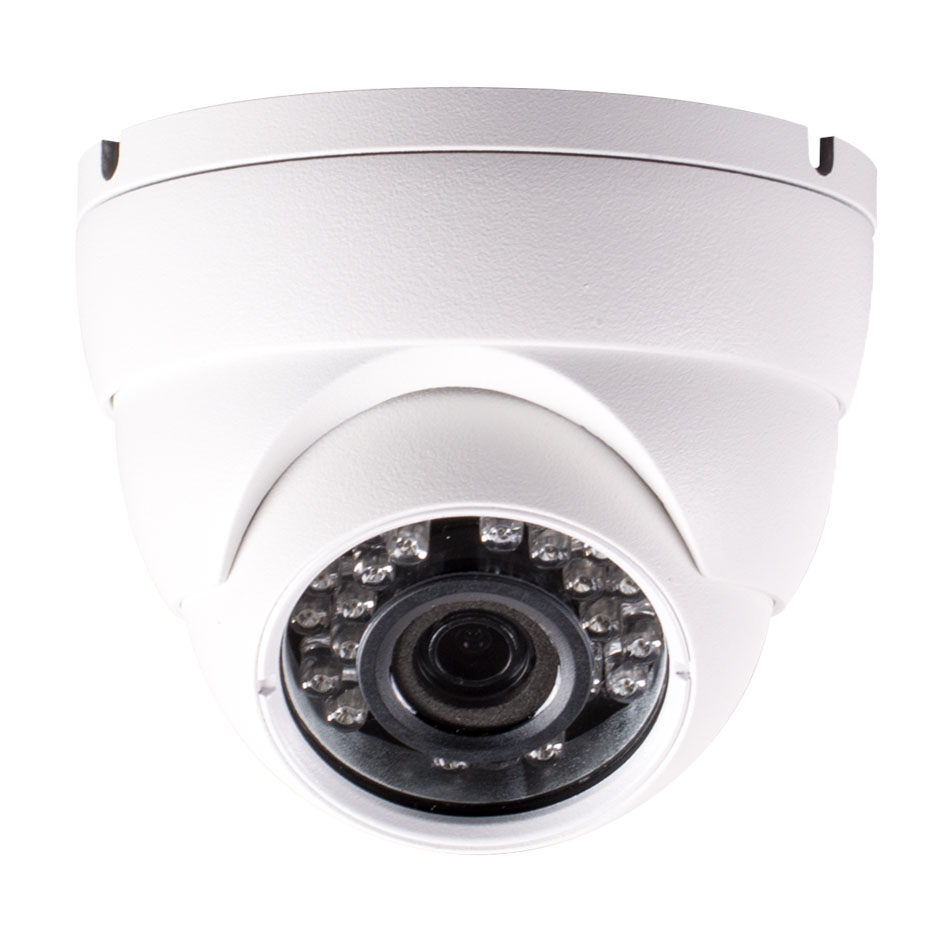 2 Megapixel, 3.6mm Fixed Lens, Waterproof, Infrared, 4-in-1 Mini-Eyeball Dome Camera