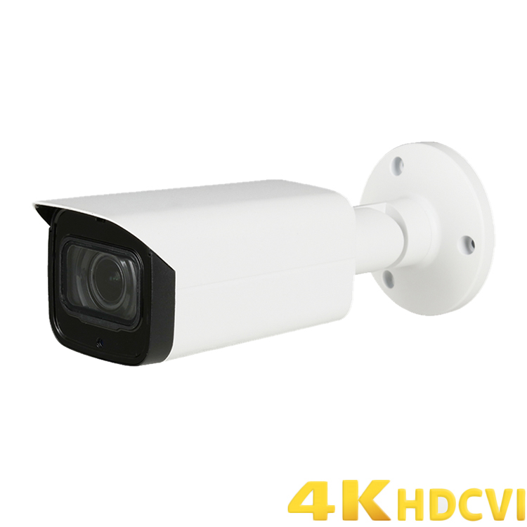 4K (8MP) Starlight IR HDCVI Bullet Camera Built in Mic 3.6 Fixed Lens