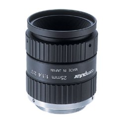 "CML25-MI-MP Computar 2/3"" 25mm f1.4 w/ Locking Iris & Focus Megapixel C-Mount Lens"