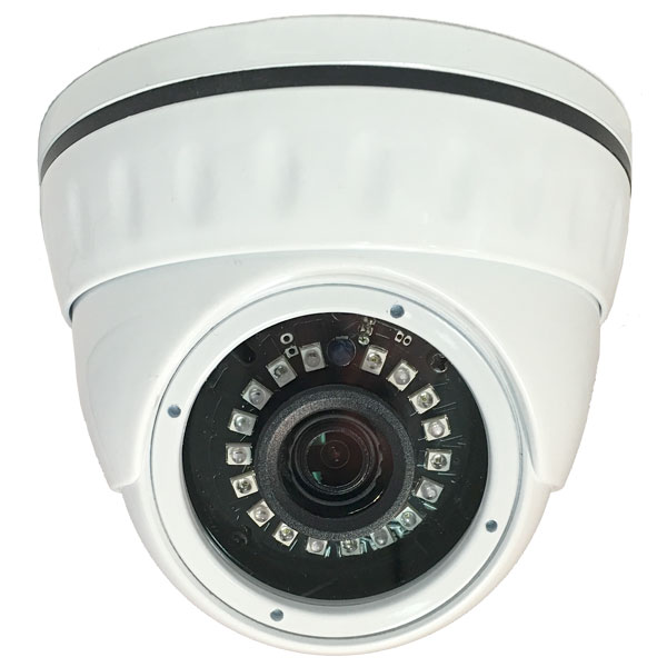 HD-AHD 1080P Outdoor Weatherproof Day/Night Dome Camera, 3.6mm Lens