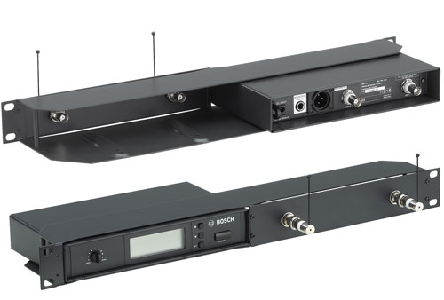 Dual Rack-mounting Kit For MW1-RX-FX Wireless Microphone Receivers