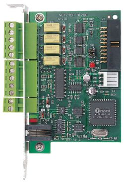 GV-NET I/O V3 - 4 Alarm Inputs & 4 Relay Outputs plus RS485 to RS232 Converter w/ USB Support