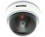 Fake Dummy Dome Security camera with Blinking LED - WHITE