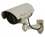 Dummy Silver Bullet Camera with Blinking Red LED