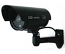 Outdoor Dummy Black Bullet Camera with Blinking Red LED