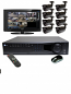 8 HD 1080p IR Bullet HD-SDI DVR Kit for Business Commercial Grade