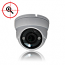 4MP Outdoor Rated Infrared IP Dome Camera - 2.8-12 Motorized Lens