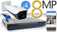8 CH NVR with 4 4K 8MP Bullet Cameras 4K Kit for Business Professional Grade FREE 1TB Hard Drive