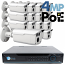 4MP IP PoE 16 Dome Camera Kit (IP141D)