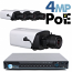 4MP IP PoE 4 Box Camera Kit (IPBOX4)