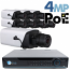 4MP IP PoE 8 Motorized Box Camera Kit (IPBOX4)