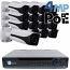4MP IP PoE 16 Motorized Bullet Camera Kit (IP40)