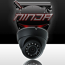 4 Megapixel IP Eyeball Dome Camera 2.8mm Lens  IP67 98ft. Night Vision (WECB3V341M-IR/28) (Ninja)