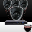 8CH IMAX NVR & Ninja 4 Megapixel IP Eyeball Dome Camera 4 Cam Kit